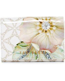Gem Garden Highbox Leather Wallet