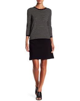 Sarah Ponte A-line Skirt