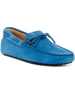 Nubuck Leather Moccasin Driver