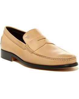 Mocassino New Devon Cuoio Penny Loafer