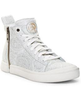 Zip-around S-nentish Hi-top Sneaker
