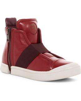 Zip-round S-nentish Strap Sneaker