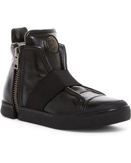 Zip-round S-netish Strap Sneaker