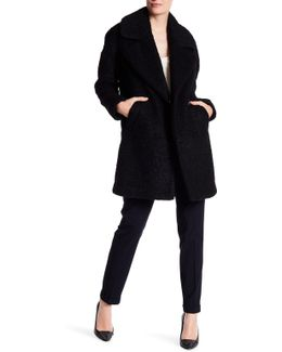 2-pocket Long Coat