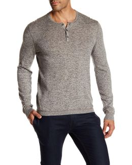 Long Sleeve Henley Pullover