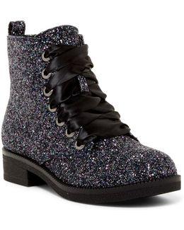 Snowflake Glitter Boot