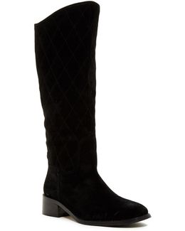 Zena Quilted Tall Boot