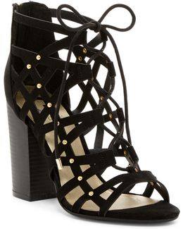 Juto Caged Lace-up Sandal