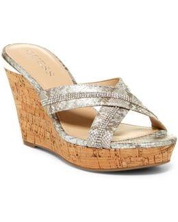 Eieny Wedge Sandal