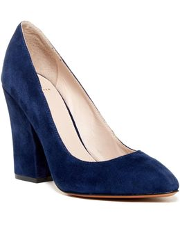 Baker Block Heel Pump