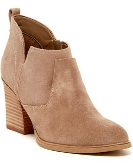 Ginger Leather Bootie