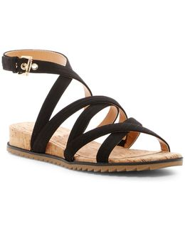 Idra Crisscross Strappy Wedge Sandal