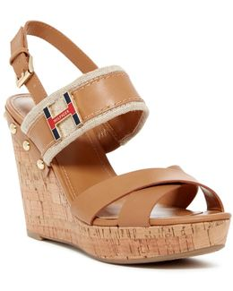 Movie Platform Wedge Sandal