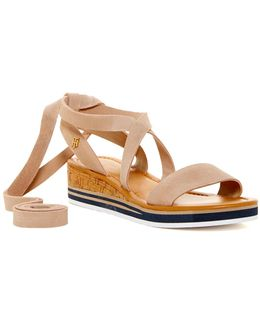 Parker Strappy Wedge Sandal
