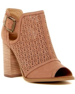 Prema Perforated Heeled Sandal