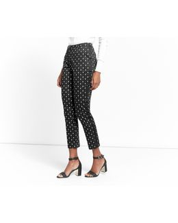 Side Stripe Geo Trouser