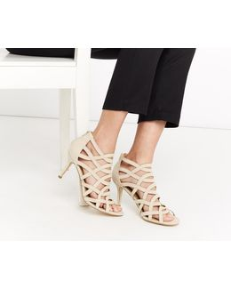 Carly Caged Sandal