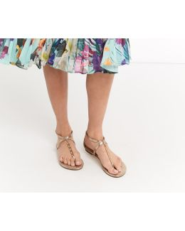Taffy Metal Detail Sandals
