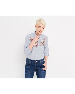 Chintz Embroidered Shirt