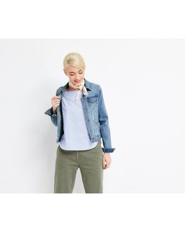 Pale Wash Willow Denim Jacket