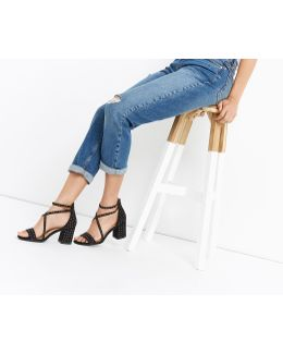 Sydney Studded Block Heel