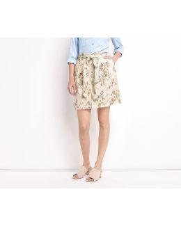Spring Flower Casual Skirt
