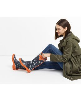 Butterfly Wellington Boots