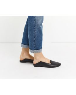 Leather Lily Slipper