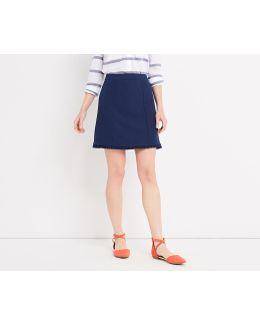 Frill Detail Smart Skirt