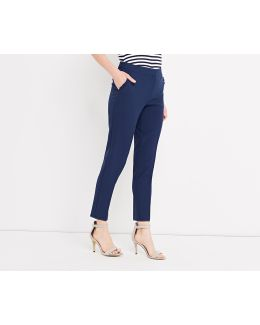 Frill Pocket Smart Trouser