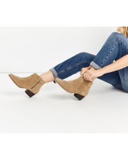 Delilah Western Ankle Boot