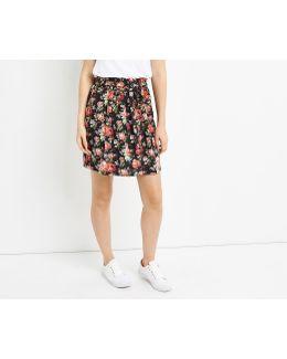 Paperbag Rose Skirt