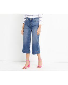 Abbie Wide Crop Jean