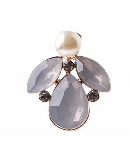 Pearly Petal Studs