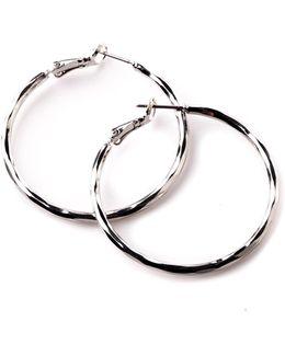 Basic Silver Tone Hoops