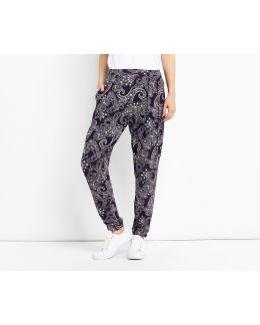 Paisley Print Trouser