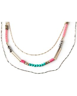 Beaded Bright Necklace