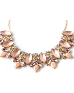 Statement Floral Collar