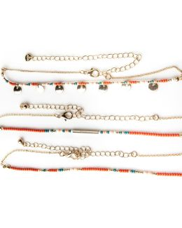 Beaded Choker Set
