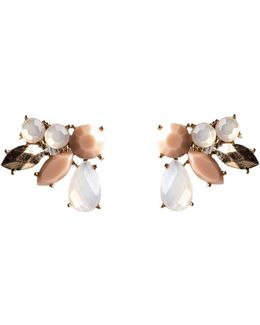Blush Cluster Earrings