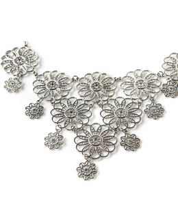 Filigree Flower Collar