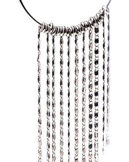 Tassle Hoop Earrings