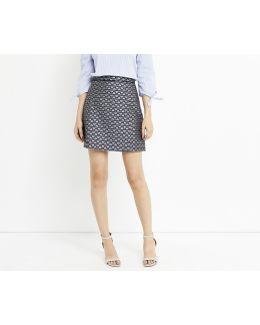 Butterfly Jacquard Skirt