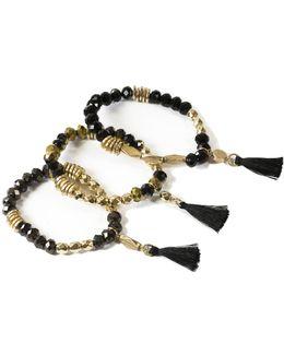Jet 3 Pack Bracelet Set
