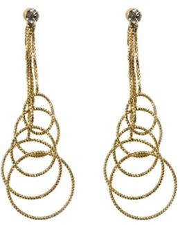 Multi Hoop Drop Earrings