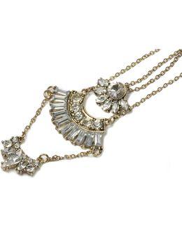 3 Row Deco Necklace