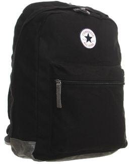 Horizontal Zip Back Pack