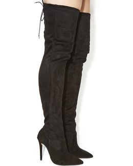 Eve Pointed Over The Knee Boots