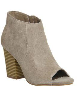 Jasmine Peeptoe Boots