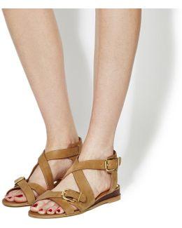 Boulevard Wedge Sandals